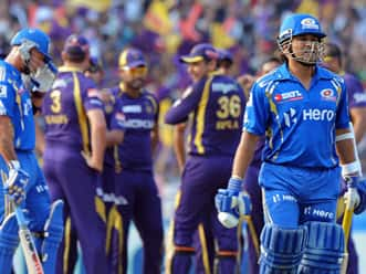IPL 2012 Live Cricket Score: KKR vs MI, T20 match- Kolkata need 183 to win