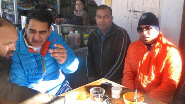 Sachin Tendulkar in Mussoorie to enjoy vacation with family