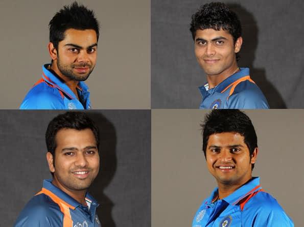 Kohli, Jadeja, Rohit, Tiwary & Raina will infuse energy on the field for Team India