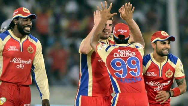 IPL 2013: Royal Challengers Bangalore players react after Super Over victory