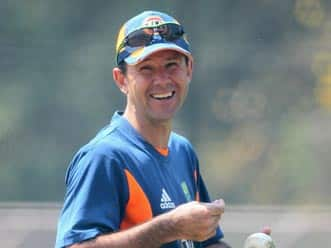 Ricky Ponting and Ben Hilfenhaus speak after 7th ODI of CB Series