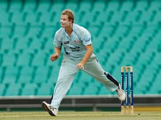 Pollard and Bravo's absence is advantage to NSW, says Steven Smith