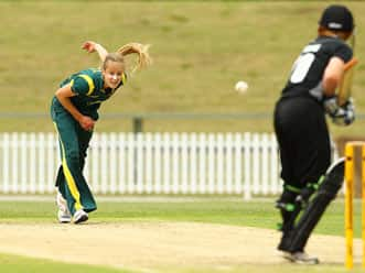 Bowling sensation Ellyse Perry
