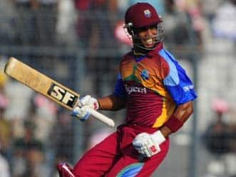 Simmons, Pollard push West Indies to 298 in first ODI