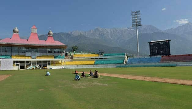 India, England arrive in Dharamsala