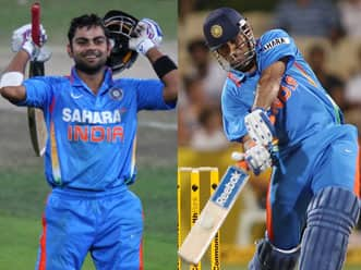 Virat Kohli, MS Dhoni feature in top ten of ICC ODI rankings