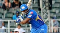 CLT20 2012: Mumbai Indians set 158-run target against Highveld Lions in Group B tie