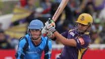 CLT20 2012: Kolkata Knight Riders set huge target against Titans