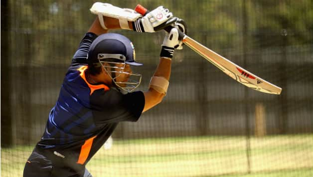 Sachin Tendulkar prepares for England series