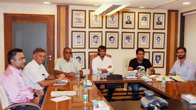 Indian selectors meeting