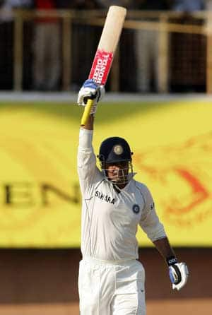 Virender Sehwag s first Test hundred in over two years promises to end a barren run
