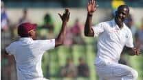 Bangladesh reach 88 at Lunch as Darren Sammy strikes twice