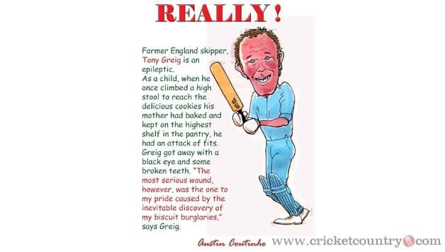 Tony Greig - Caught & Bowled!
