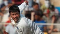 Pragyan Ojha bags brace as England take Tea at 77/2