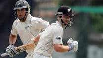 Ross Taylor, Kane Williamson fifties steer New Zealand ahead against Sri Lanka at Tea