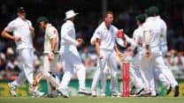 South Africa in command as Australia bundled out for 163
