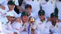 South Africa retain top spot in ICC Test Rankings after series win over Australia