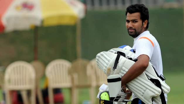 Rohit Sharma reprimanded for showing dissent