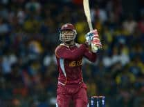 Marlon Samuels powers West Indies to 197 in one-off Twenty20 against Bangladesh
