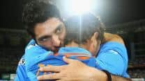 Sachin Tendulkar among celebrities to wish Yuvraj Singh on his 31st birthday