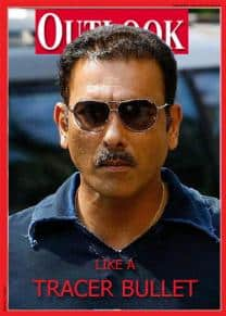 Outlook features Ravi Shastri on its cover after Imran Khan makes cover of Time