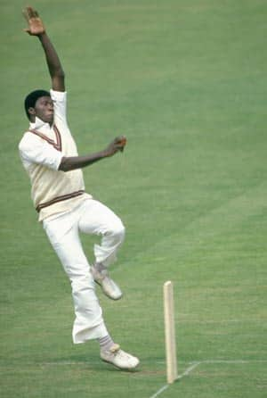 Joel Garner – the head and toes were both under threat when batsmen faced this Barbadian giant