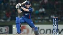Eoin Morgan stars with the bat as England beat India in second T20 at Mumbai