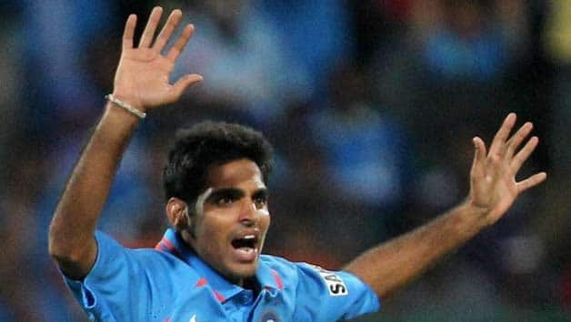 Bhuvneshwar Kumar hopes to play Test cricket alongside Sachin Tendulkar
