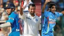 2012 saw Indian cricket in a freefall; Rahane, Pujara & Bhuvaneshwar beacons of hope