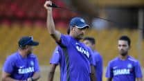 India selectors watch over team's practice session at Delhi