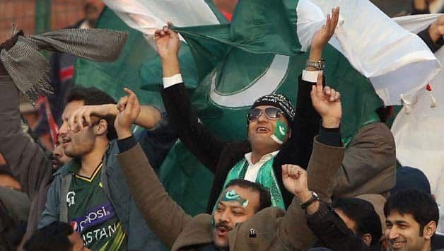 Pakistan fans celebrate ODI series win on India soil