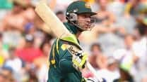 Phil Hughes, George Bailey take Australia to 305/5 against Sri Lanka in first ODI at Melbourne