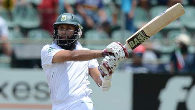 Hashim Amla's fifty guides South Africa to 191/3 against New Zealand at Tea on Day One