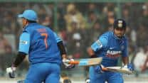 MS Dhoni and Ravindra Jadeja propel India to 285/6 against England in second ODI