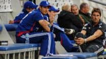 England pacers bowl to dummy batsmen at nets