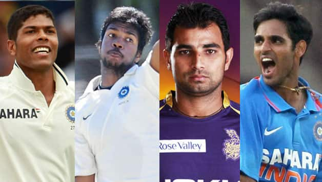 Yadav, Aaron, Shami and Bhuvneshwar could form India's next bunch of seamers
