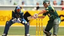 Sri Lanka win toss, elect to bowl against Australia in fifth ODI at Hobart