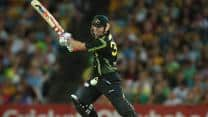 David Warner pushes Australia to 137/3 against Sri Lanka in 1st T20