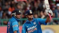 Suresh Raina half-century lifts India to 226 against England in fifth ODI at Dharamsala