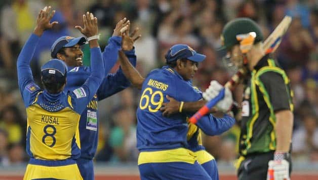 Australia vs Sri Lanka: Rain halts play in second T20 at Melbourne