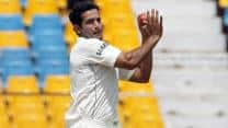 Irfan Pathan takes hat-trick in first over of a Test match against Pakistan