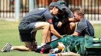 India vs Australia 2013: David Warner in fresh injury scare