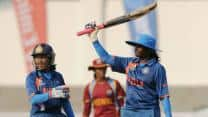 ICC Women's World Cup 2013: Thirush Kamini helps India reach decent total against West Indies