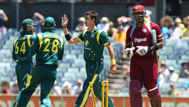 West Indies bundled out for lowest ODI total against Australia at Perth
