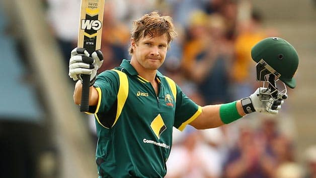 Shane Watson, Phil Hughes fire Australia to against West Indies in third ODI