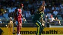West Indies win toss, elect to bat against Australia in one-off T20 at Brisbane