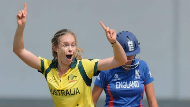 Women's cricket is a glamour sport, says the very beautiful 17-year-old Holly Ferling