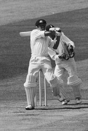 Doug Walters: The first instance of a batsman scoring a double hundred and hundred in the same Test