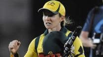 Jodie Fields was nervous ahead of Australia Women's clash against West Indies in final