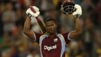 Johnson Charles, Darren Bravo help West Indies thump Zimbabwe in first ODI